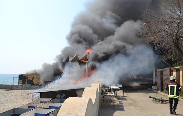 У ресторані Одеси загасили пожежу