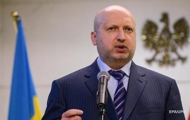 Турчинов не исключает точечных АТО на Донбассе