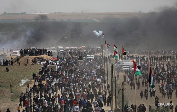 На границе сектора Газа один человек погиб и более 700 были ранены