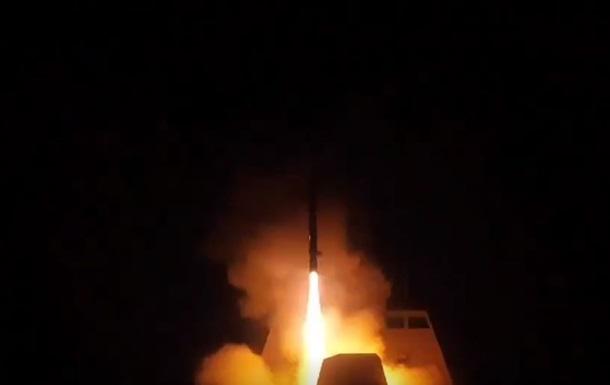 Удар по Сирії: в Міноборони Франції показали відео