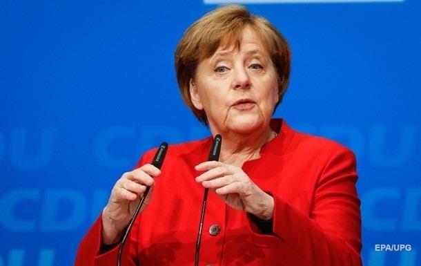 Меркель позитивно оцінила удари по Сирії