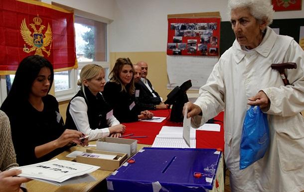Голосование запрезидента началось вЧерногории
