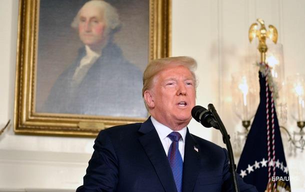 Трамп відзвітував Конгресу за удари по Сирії