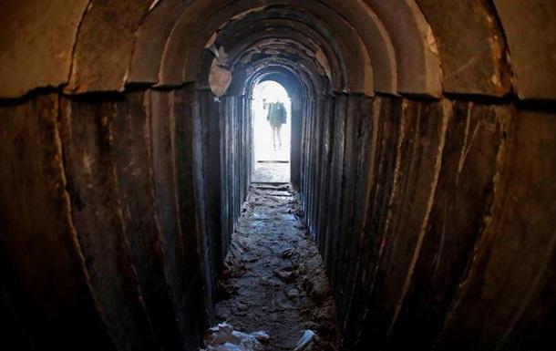 Ізраїльська армія зруйнувала кількакілометровий тунель із Сектору Гази