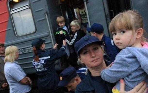 В Украине выросло число переселенцев