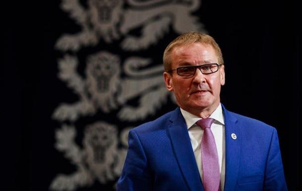 В Естонії міністр звільнився через керування напідпитку