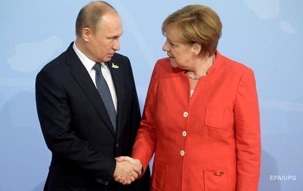 Меркель и Путин обсудили Сирию