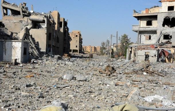 В ООН рассказали о разрушениях в сирийской Ракке