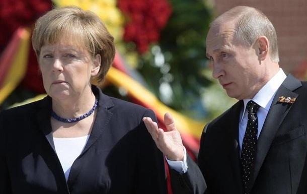 Меркель анонсувала зустріч з Путіним в  найближчому майбутньому