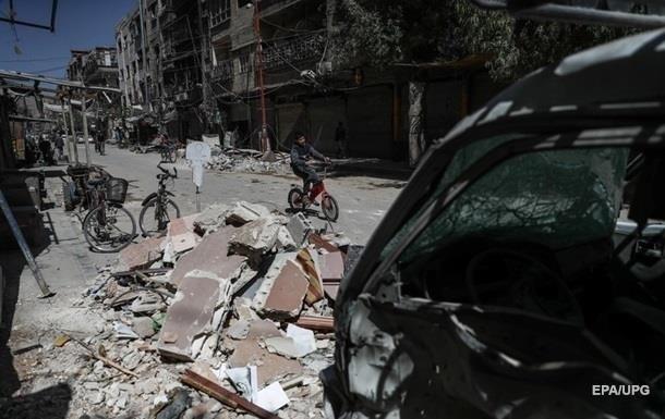 Франция подозревает РФ в уничтожении доказательств химатаки в Сирии