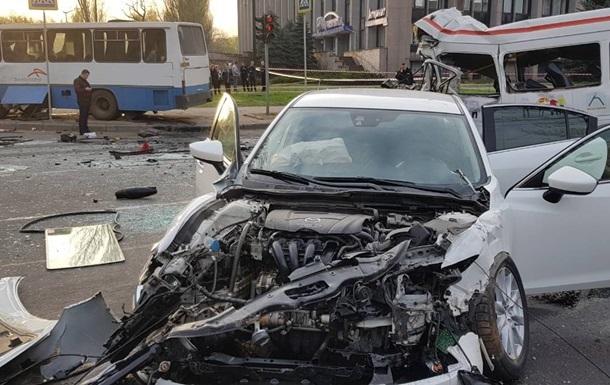Одному из участников ДТП в Кривом Роге сообщили о подозрении