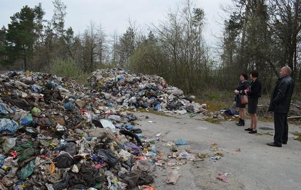 В Житомирской области нашли 90 тонн мусора из Львова
