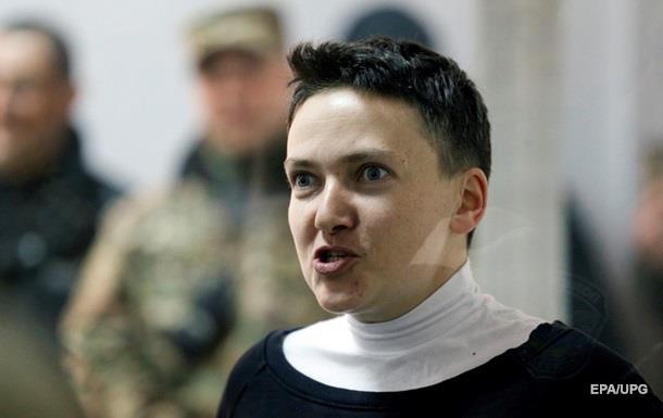 Савченко отказалась сдавать анализы