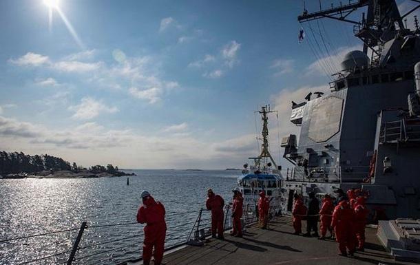 Стрелявший по Сирии эсминец США прибыл в Хельсинки