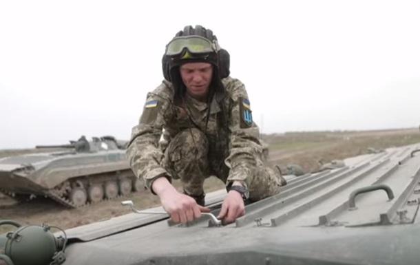 В Ровно испытали боевую технику из Польши