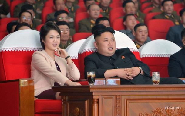 Жену Ким Чен Ына впервые назвали  уважаемой первой леди КНДР