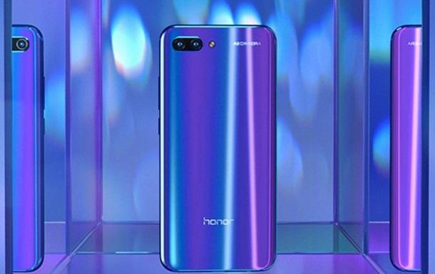 Huawei достроково представив Honor 10