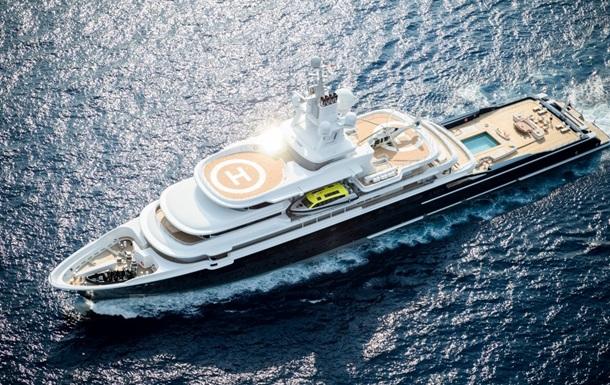 Лондонський суд заарештував яхту російського мільярдера