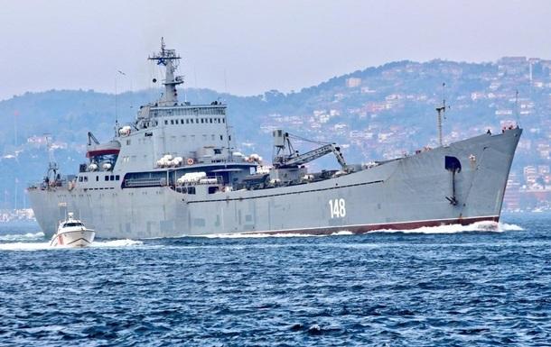 Военные РФ разгружают корабли в Сирии под дымовой завесой – СМИ