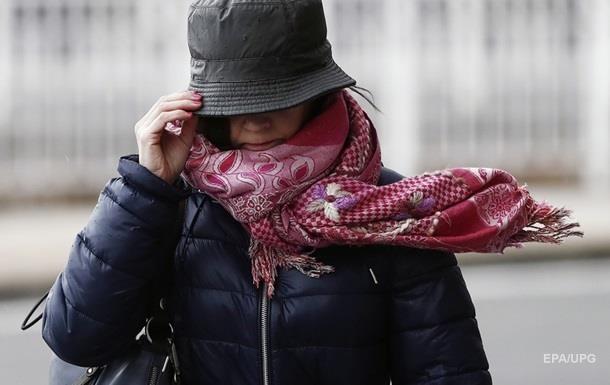 В Украине объявили штормовое предупреждение