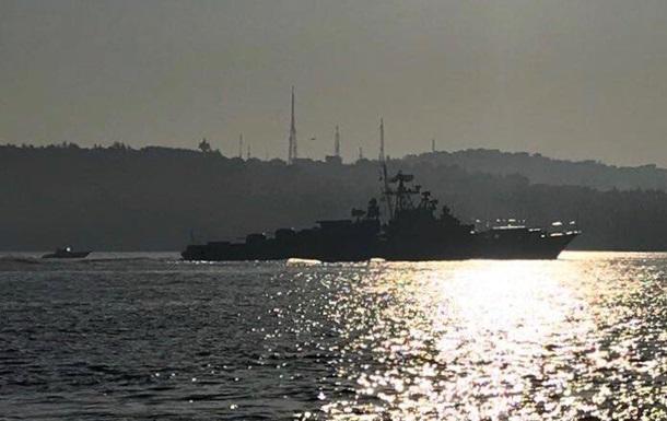 У Середземне море увійшли два бойових кораблі Росії