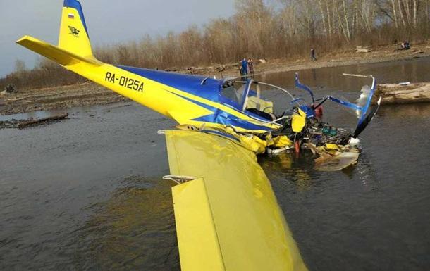 У Росії розбився літак: загинули двоє осіб
