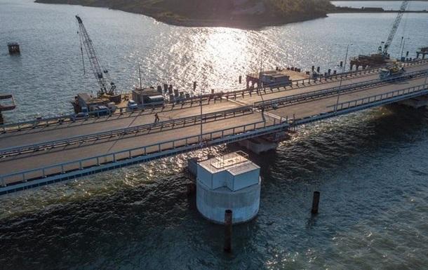 На Керченському мосту почали будувати очисні споруди