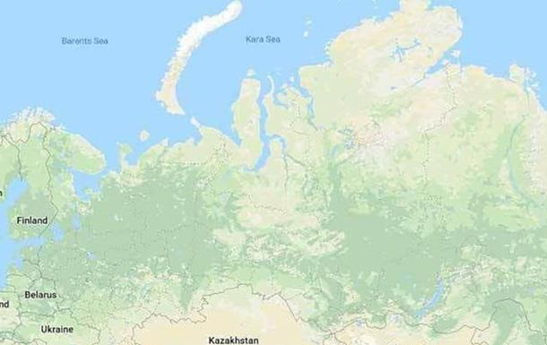 Украинские хакеры стерли Россию с карт Google
