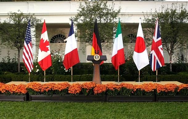 G7 готова посилити заходи проти РФ через Україну