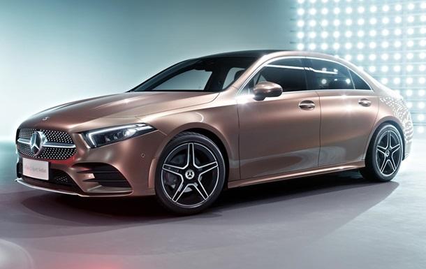 Mercedes показав компактний седан A-Class