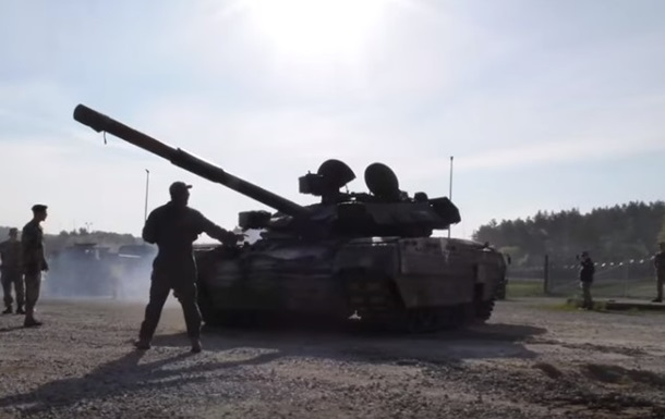 Украинская военная техника прибыла на учения в ФРГ