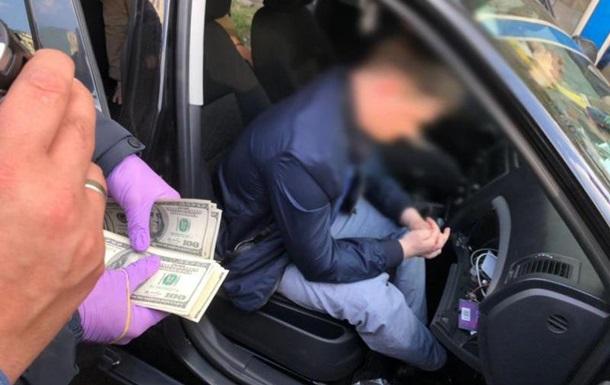 На крупной взятке задержан сотрудник главка СБУ