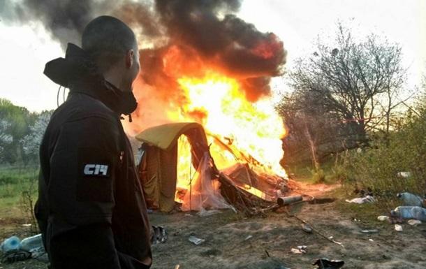 Погроми в Києві. Націоналісти проти ромів