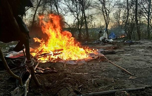 Погром табору ромів в Києві: поліція відкрила дві справи