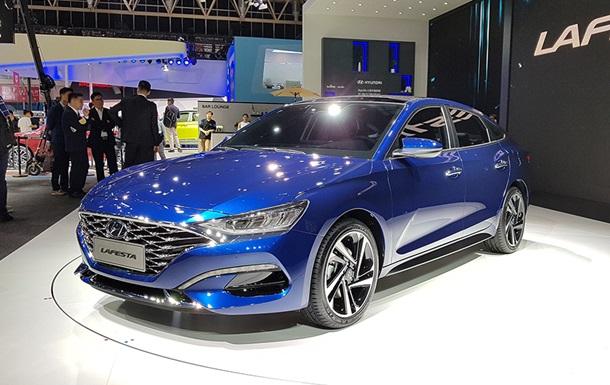 Hyundai показала в Пекіні новий седан Lafesta