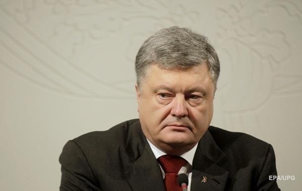 Порошенко стал лидером антирейтинга политиков