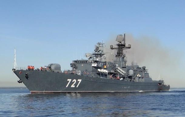Россия усилила эскадру в Средиземном море
