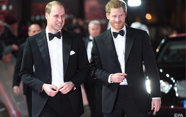 Принц Уильям будет свидетелем на свадьбе принца Гарри