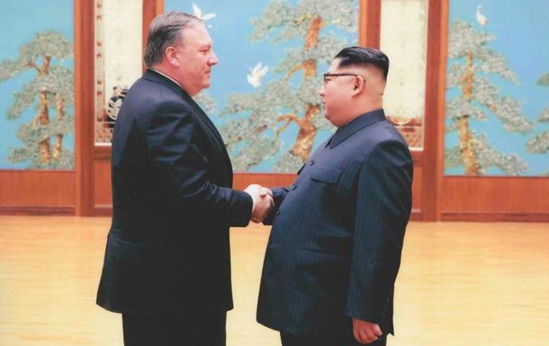 Опубликованы фото со встречи Помпео и Ким Чен Ына
