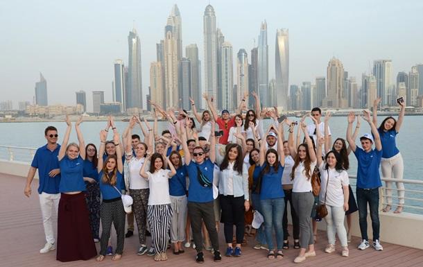 Лучшие украинские студенты изучают архитектуру в Дубае