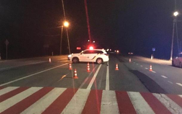 У Львівській області п яний водій збив поліцейського