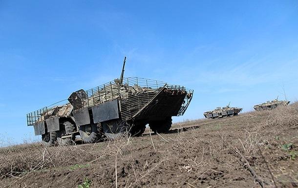 В Украине прошли масштабные тактические учения