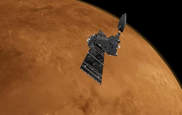 Зонд місії ExoMars надіслав перші кольорові знімки Червоної планети