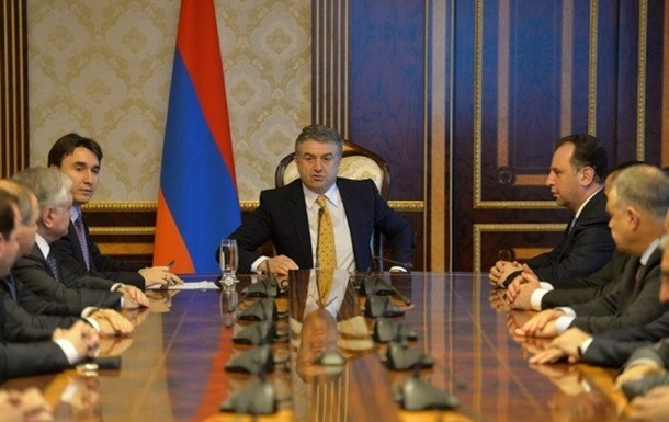 В Армении правящая партия отказалась выдвигать кандидатуру на пост премьера