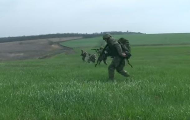 Появилось видео тактических учений ВСУ
