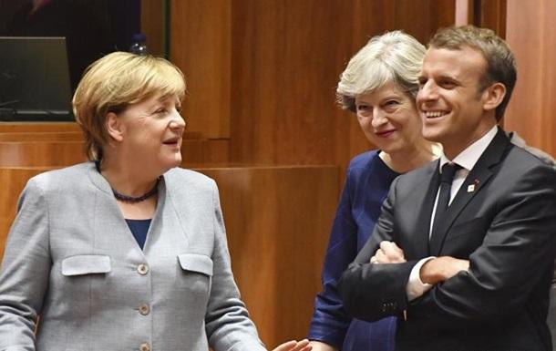 Меркель, Макрон і Мей заявили про готовність обговорювати додаткової угоди по Ірану