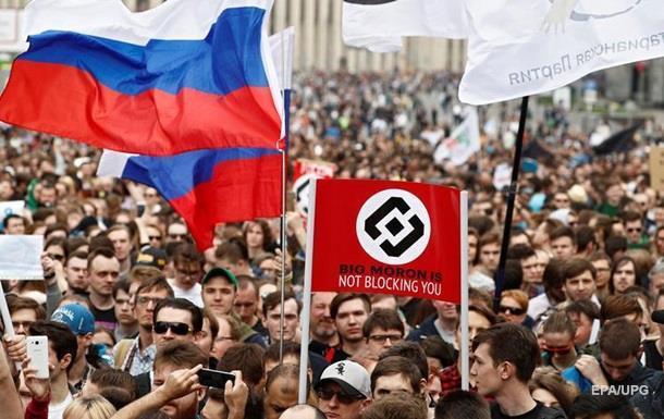 Мітинг проти блокування Telegram: прийшли 12 тисяч