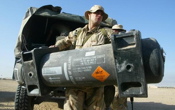 Америка поставила ПТРК Javelin Украине