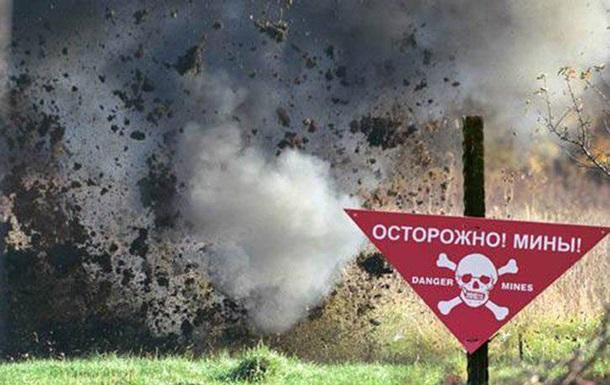 На Донбасі на вибухівці підірвався цивільний