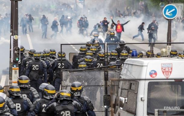Первомайские беспорядки в Париже: задержаны более 200 человек